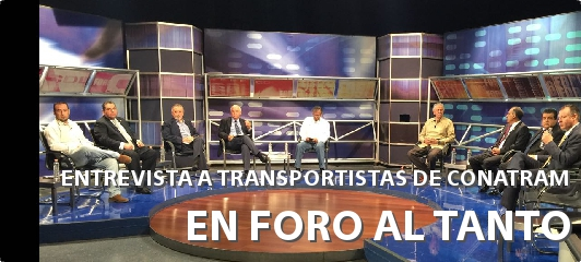ENTREVISTA A TRANSPORTISTAS DE CONATRAM