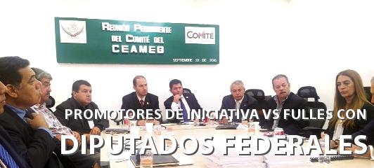 CONATRAM SE REÚNE CON DIPUTADOS Y PROMOTORES DE INICIATIVA CONTRA FULLES