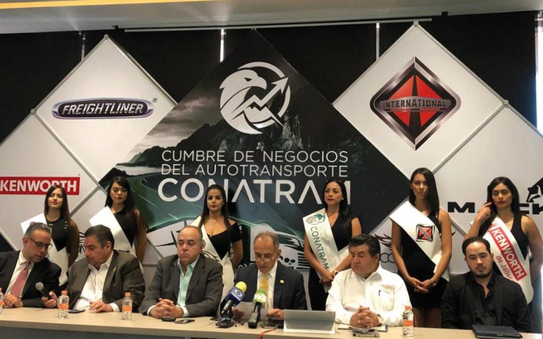 TODO LISTO PARA LA  CUMBRE DE NEGOCIOS DEL AUTOTRANSPORTE CONATRAM
