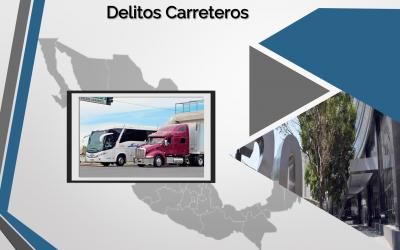 DELITOS CARRETEROS, CIFRAS OFICIALES MAYO