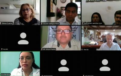 CONATRAM SUR DE TAMAULIPAS  CELEBRA SU PRIMERA ASAMBLEA  REGIONAL POR VIDEOCONFERENCIA