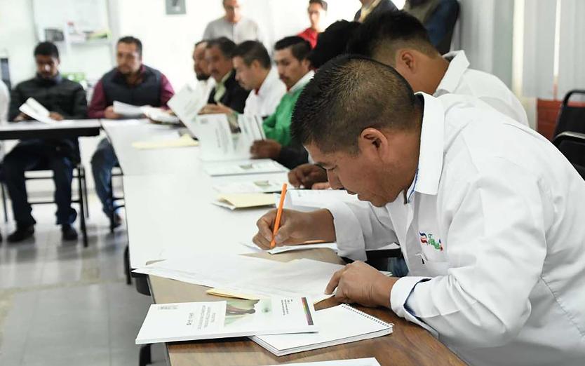 SE MEJORAN LAS INSTALACIONES  PARA LA CARRERA DE AUTOTRANSPORTE DE CONALEP EN PARRAL, CHIHUAHUA